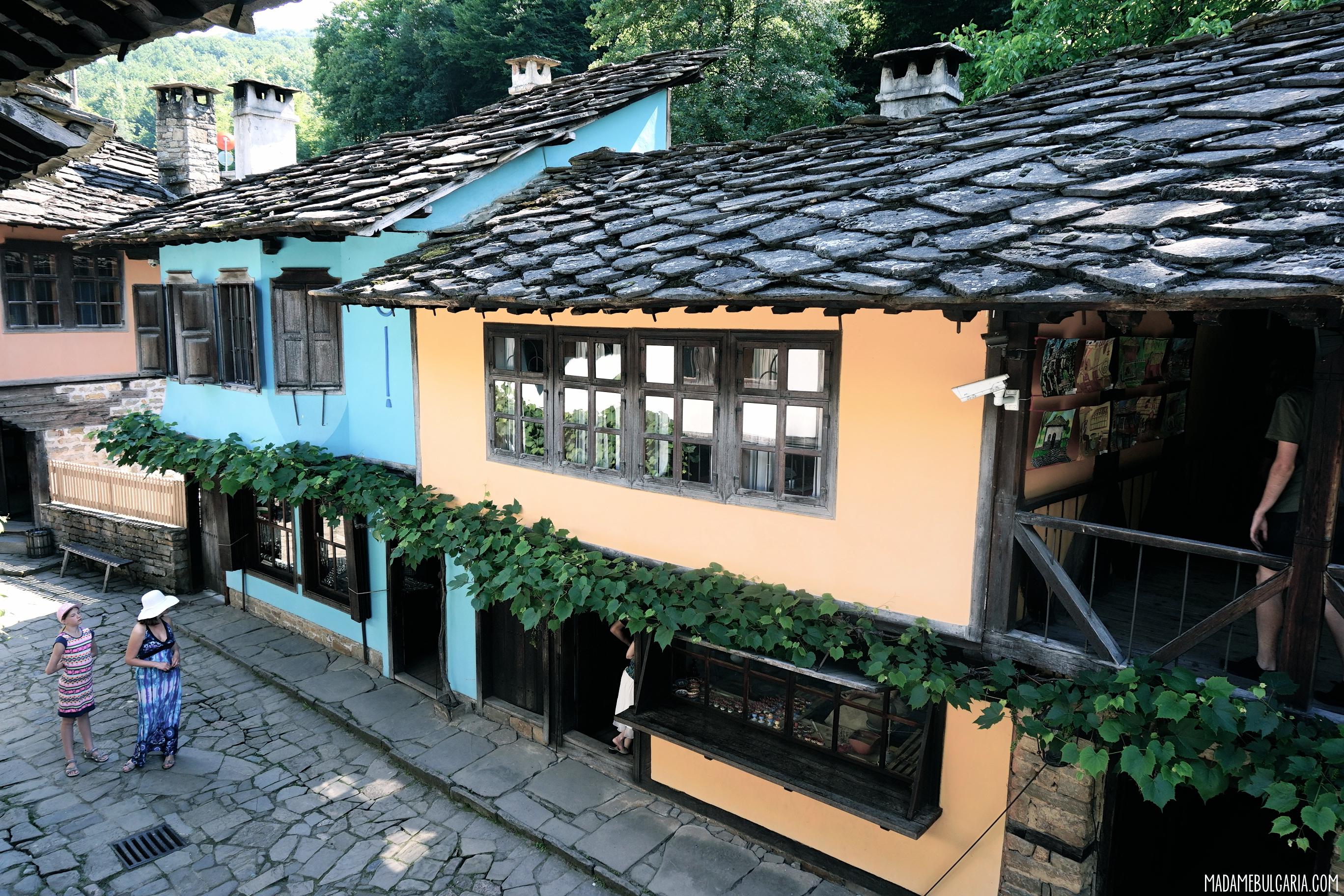 Architectural ethnographic complex Etar Gabrovo Bulgaria