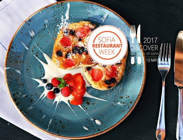 Sofia Restaurant Week