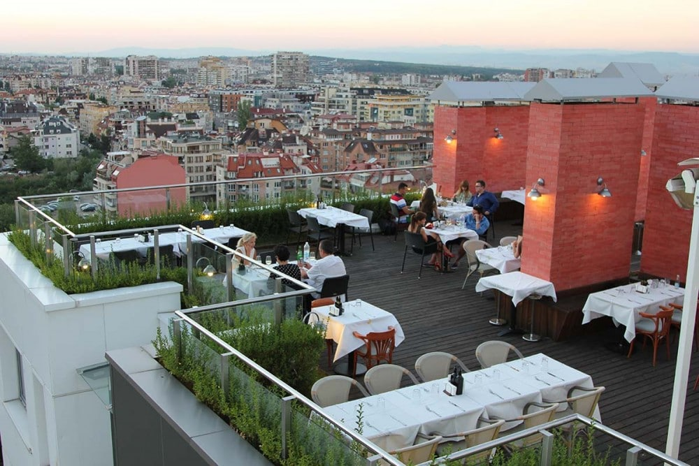 Panoramic restaurants Sofia