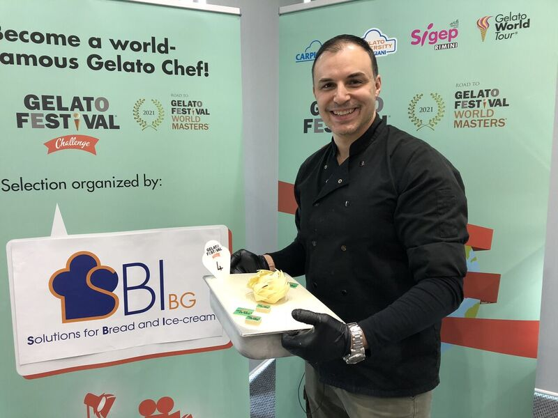 Gelato Festival Challenge Sofia 2018 Bulgaria
