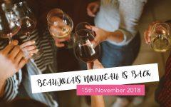 Beaujolais nouveau 2018 Sofia Bulgaria